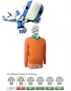 Fits.me Robotic Mannequin Technology