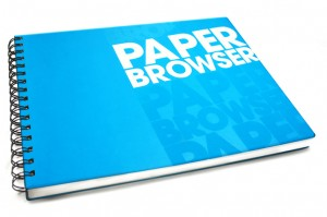 Paper Browser Notebook